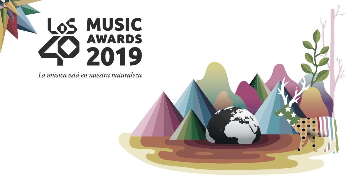 Ya está aquí la lista de nominados a los 40 Music Awards 2019