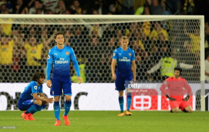 Four things we learned following Arsenal's defeat against Watford