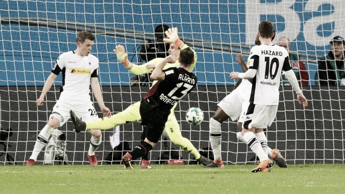 Eficiente, Bayer Leverkusen conquista tranquila vitória diante do Borussia Mönchengladbach