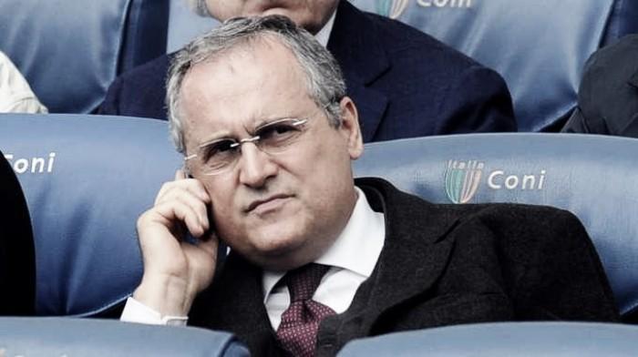 Lazio Lotito chiede la Var per la Coppa Italia