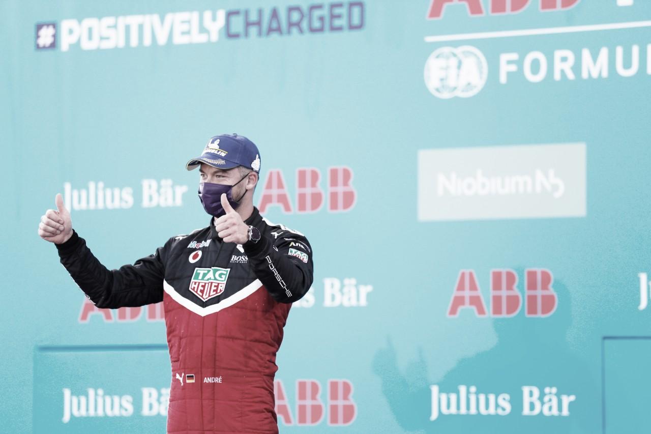 Fórmula E: Lotterer se diz feliz por pódio, mas lamenta erro durante a prova