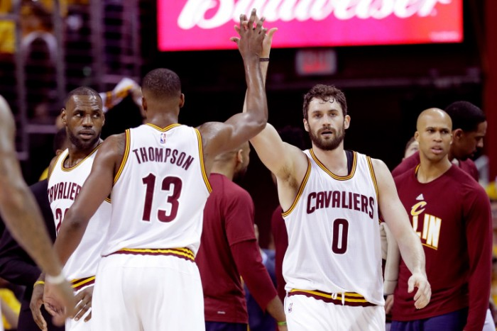 Cleveland, all you need is (Kevin) Love