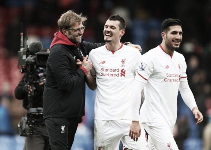 Dejan Lovren credits Jürgen Klopp for his recent improved performances for Liverpool
