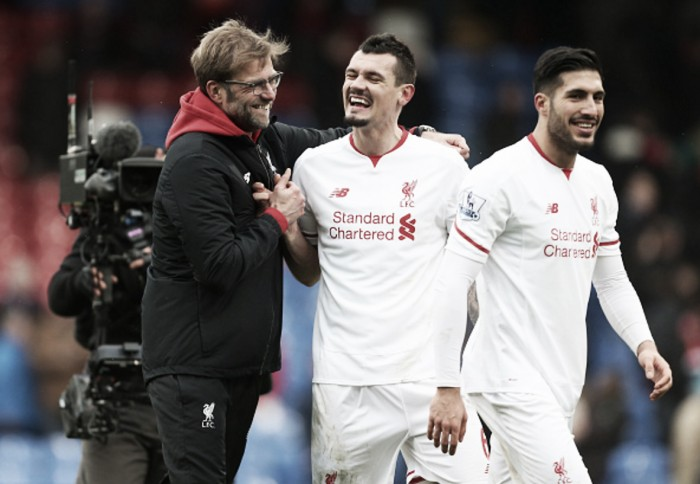 Crystal Palace win was an incredible performance, lauds Liverpool defender Dejan Lovren