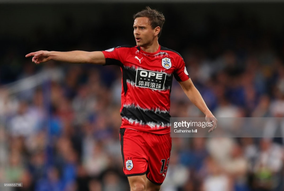 """""""Time to celebrate"""" says Huddersfield Town's Chris Löwe before final day clash against Arsenal"""