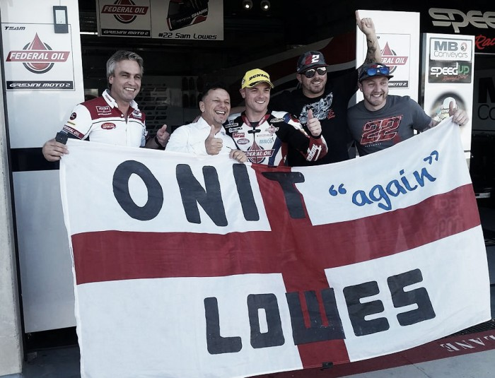 British rider Sam Lowes claims Moto2 pole position