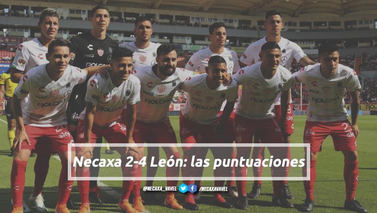 Puntuaciones de Necaxa en la Jornada 10 del Apertura 2019 de la Liga MX