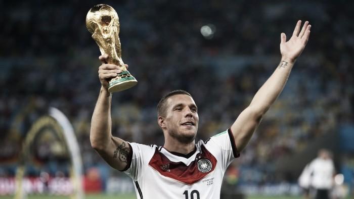 Lukas Podolski announces retirement from international football