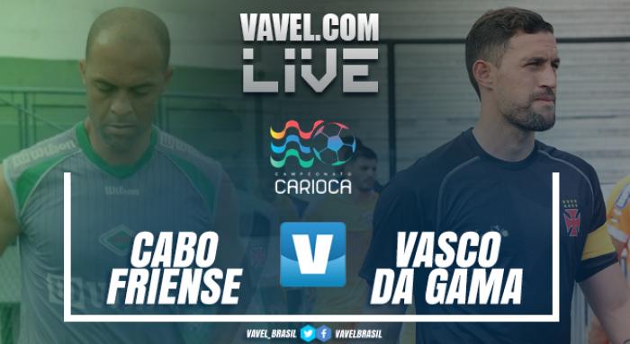 Resultado Cabofriense x Vasco pela Taça Guanabara 2018 (2-1)