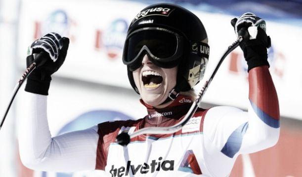Torna a vincere Lara Gut: suo il Super G di Lake Louise. A podio anche la Vonn e Tina Maze