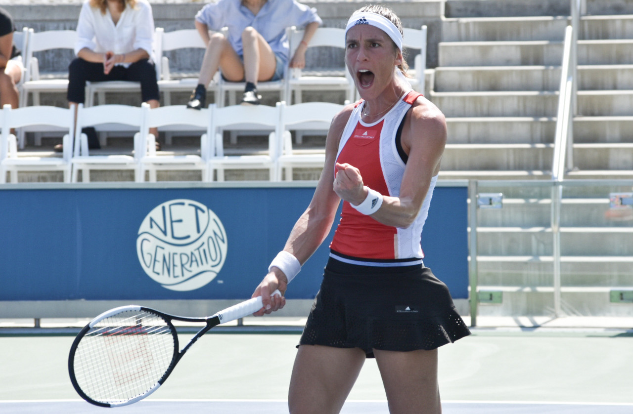 WTA Bronx Open Day 2 wrapup: Petkovic upsets Zhang; Giorgi, Siniakova among others to advance