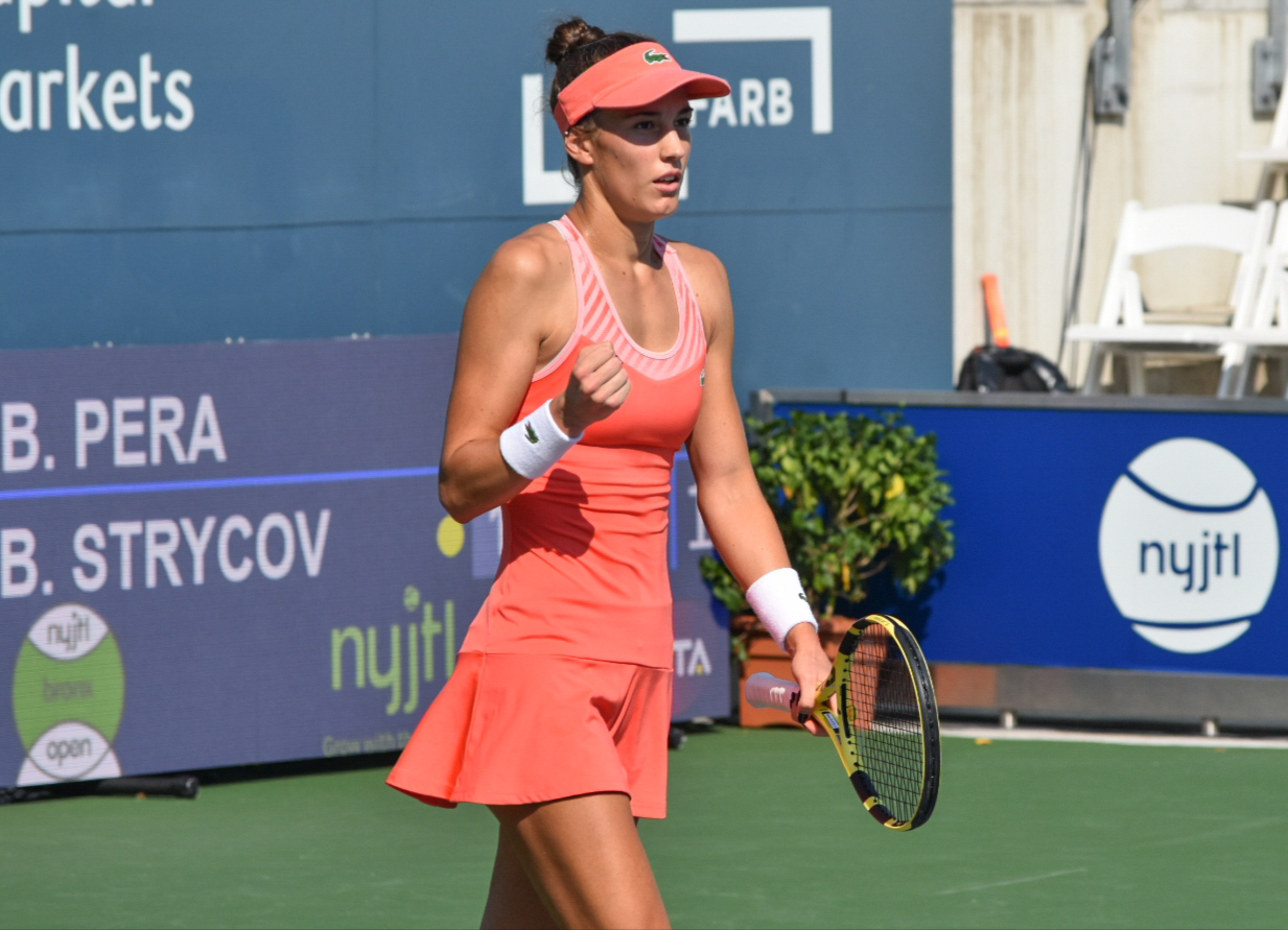 WTA Bronx Open: Bernarda Pera rallies to knock off Barbora Strýcová