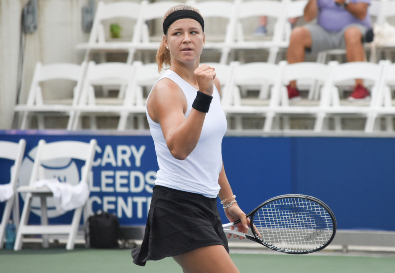 WTA Bronx Open Day 4 recap: Wang, Muchova, Linette, Blinkova reach quarterfinals