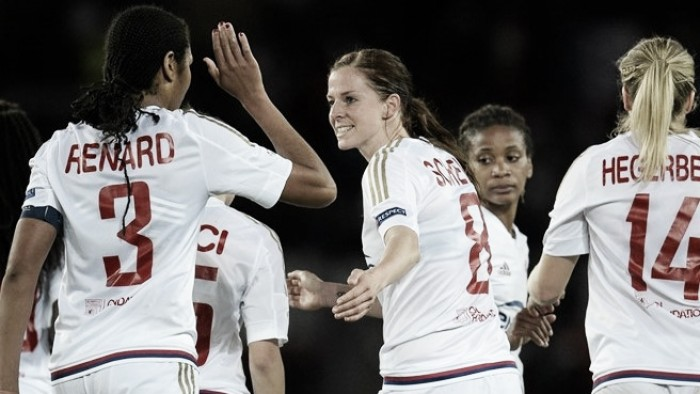 Paris Saint-Germain (0) 0-1 (8) Olympique Lyonnais: Schelin strike seals spot in final
