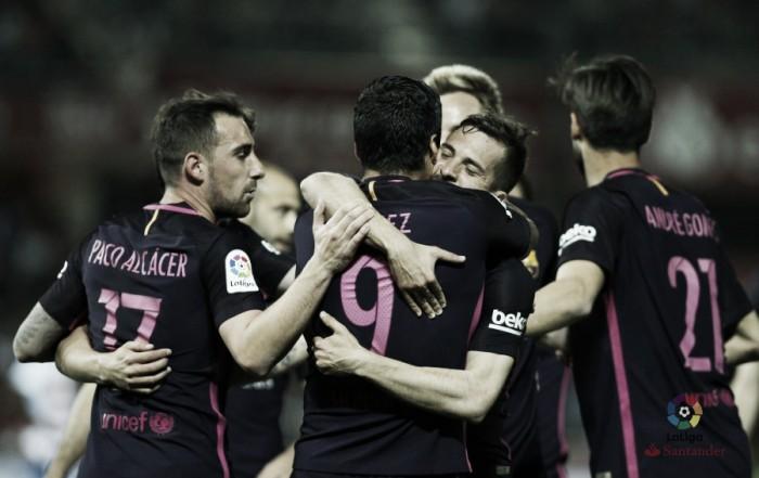 Liga, 30^ giornata. Nel turno infrasettimanale spicca Barça-Siviglia