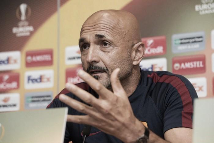 """Roma, Spalletti in conferenza: """"Devo far giocare quelli a cui ho dato meno spazio"""""""