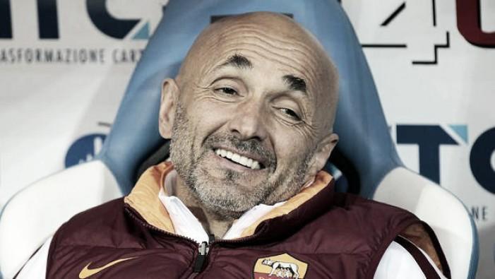 """Roma, Spalletti: """"Il secondo posto sarebbe un miracolo. Totti?Sono soddisfatto del suo contributo"""""""