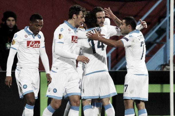 Europa League : Naples cartonne, la Roma piétine et l'Inter rejoint sur le fil