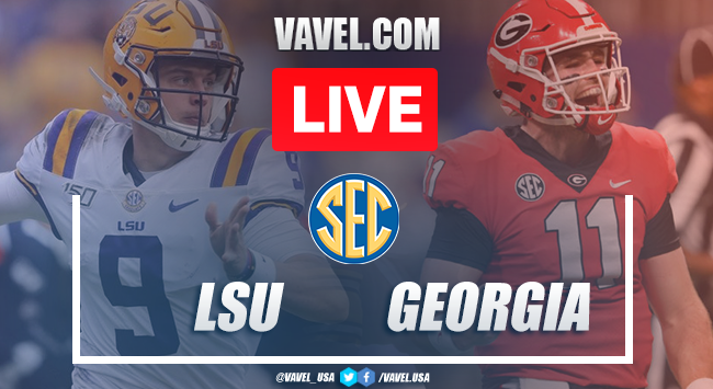 LSU vs. Georgia: Live Stream Online TV Updates and How to Watch 2019 SEC Championship (0-0)