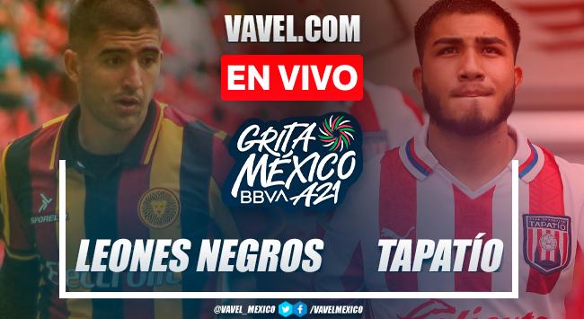 Resumen y goles: Leones Negros 3-0 Tapatío en Liga Expansión MX 2021