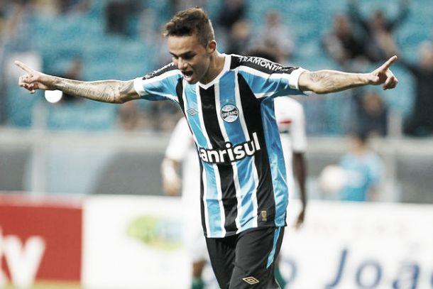 Luan renova contrato com Grêmio até dezembro de 2018
