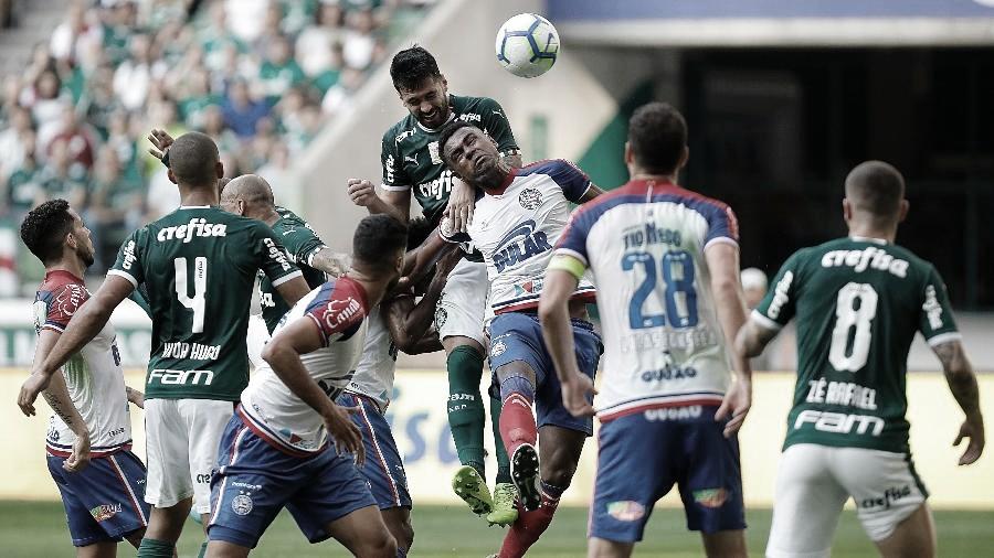 Sem perder há 31 anos para o Bahia em Salvador, Palmeiras busca seguir na caça ao líder