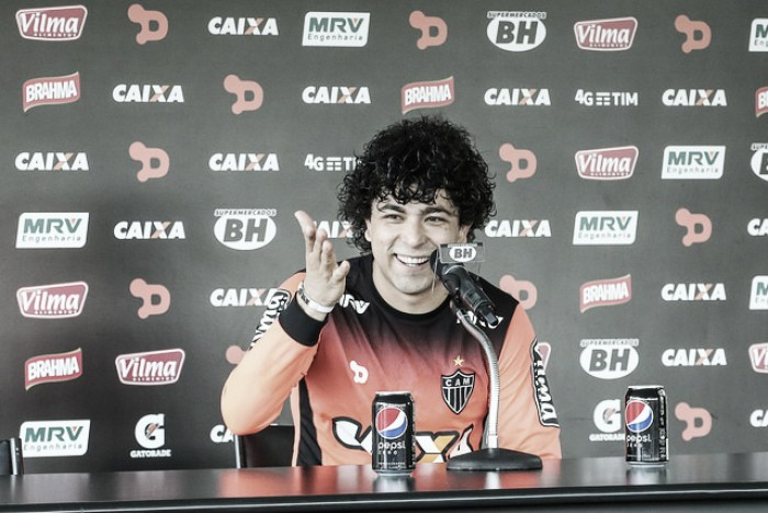 """Em fase final de recuperação, Luan se empolga: """"Quero ajudar o Galo a ser campeão"""""""