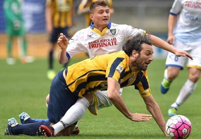 Beffa Verona: il Frosinone si impone 1-2 al Bentegodi