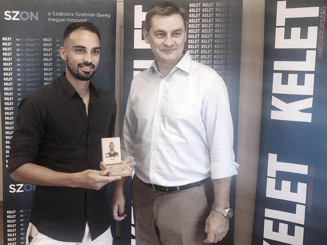 Lucas Marcolini destaca ritmo intenso de preparação no Kisvárda e confia em bons resultados