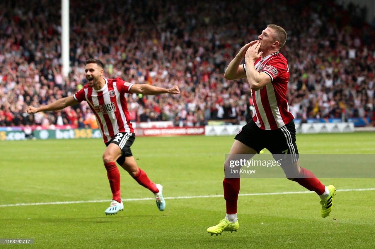 Sheffield United 1-0 Crystal Palace: Lundstram strikes to seal Blades a perfect home return to Premier League
