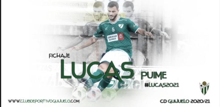 Lucas Puime es nuevo jugador del CD Guijuelo