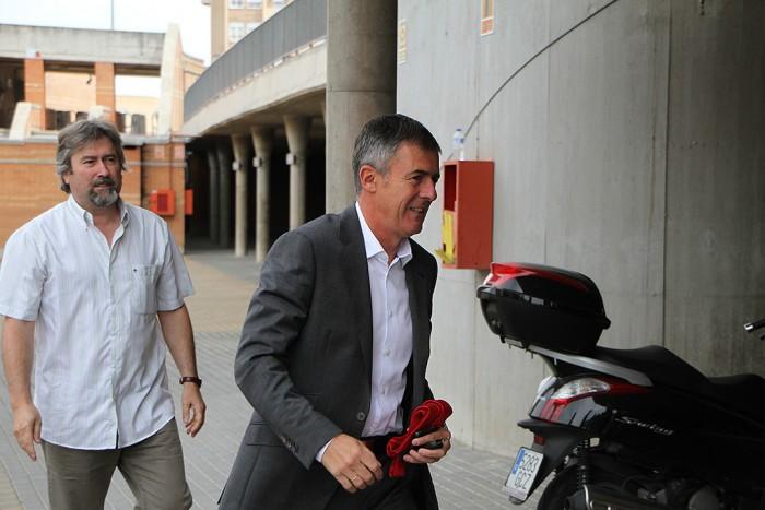 Lucas Alcaraz vuelve a entrenar al Granada CF
