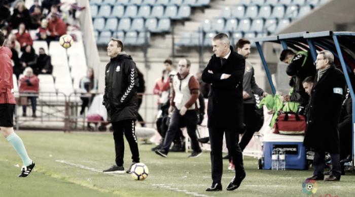 """Lucas Alcaraz: """"Quiero a un equipo competitivo los 90 minutos"""""""