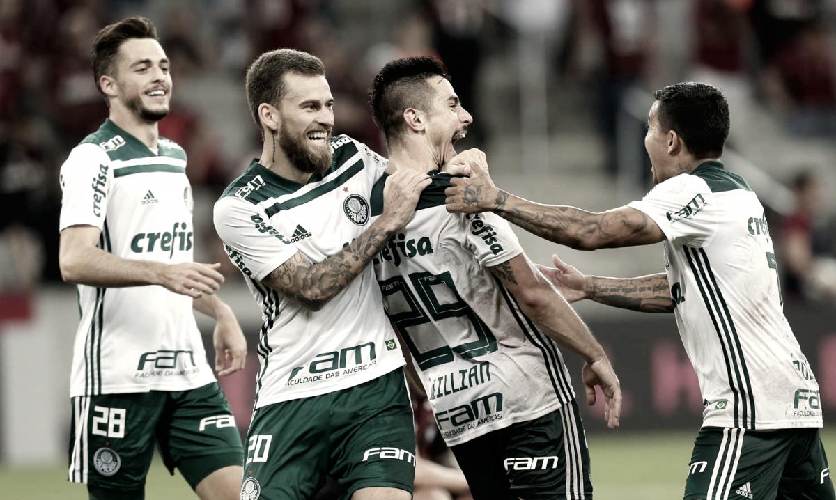 Resultado e gols de Palmeiras x Árabe Unido pelo quadrangular pela paz de Colón (0-2)