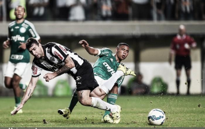 Irregular, Atlético-MG tenta manter tabu de cinco anos contra Palmeiras
