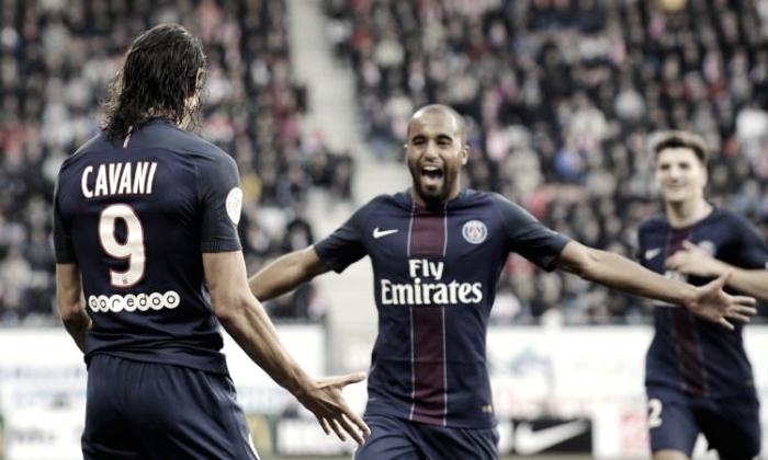 Ligue 1: il PSG fa e disfa, ma alla fine vince. Lille battuto 2-1 grazie ad un guizzo di Lucas nel finale