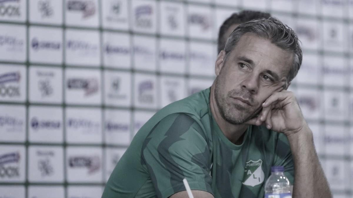 """Lucas Pusineri: """"Mi obligación es levantar a los muchachos y a partir de mañana pensar en lo que se viene"""""""