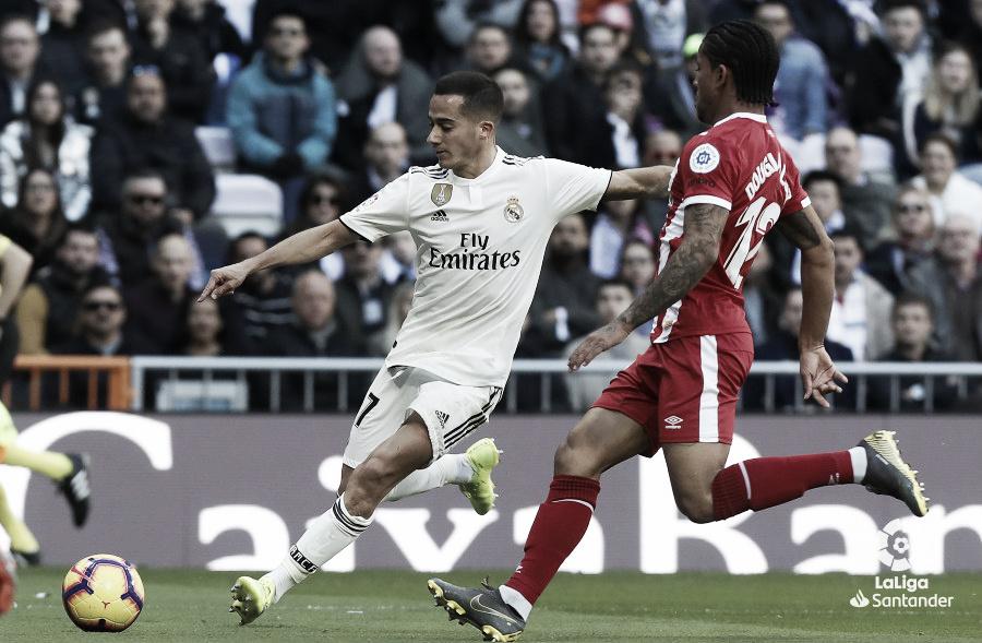 Lucas Vázquez atraviesa su mejor racha como titular