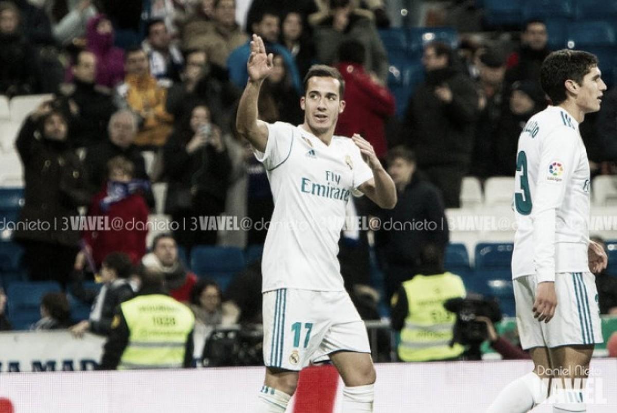 """Lucas Vázquez: """"Es penalti, es lo que hay"""""""
