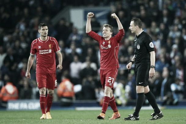 Lucas to miss another Liverpool Wembley trip after sustaining injury in training