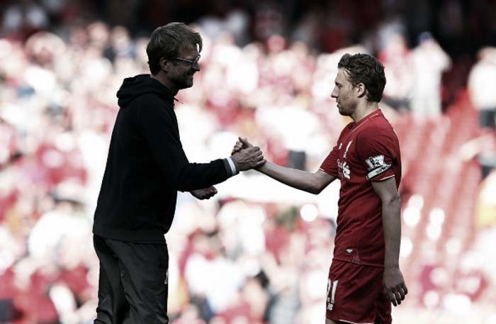 "Lucas Leiva: Klopp's new contract is ""great news"" for Liverpool"