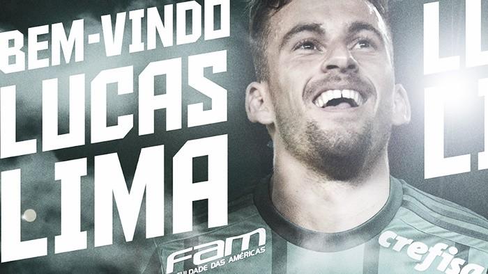 Palmeiras oficializa contratação de Lucas Lima por cinco anos