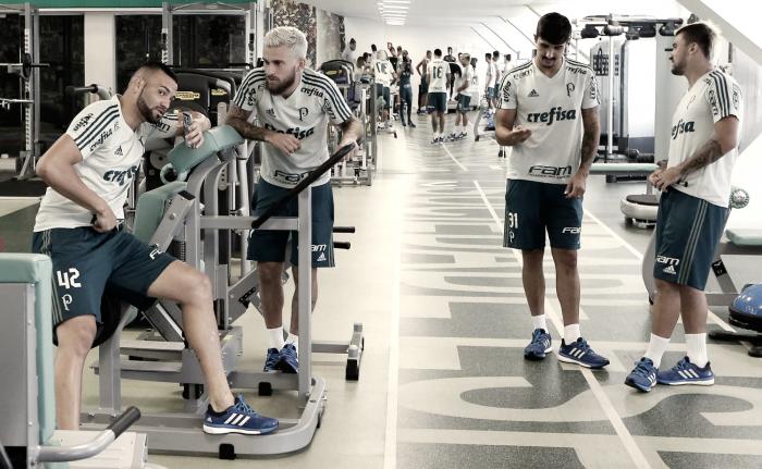 Com novidades, Palmeiras volta ao trabalho e inicia testes físicos na Academia de Futebol