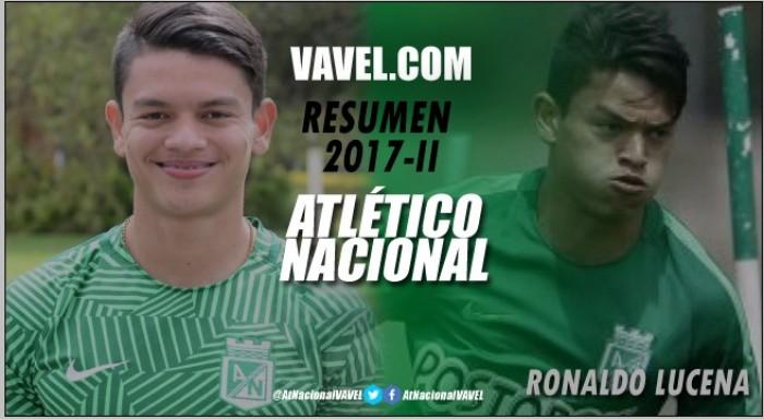 "Resumen Atlético Nacional 2017-II: Ronaldo Lucena, un ""chamo"" que promete"