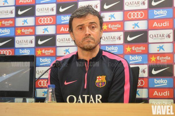 """L. Enrique: """"Nuestro objetivo, a pesar del resultado, va ser ir ganar al Calderón"""""""