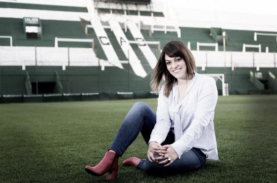 Banfield y Luciana Barbuto rompen los esquemas tradicionales del fútbol