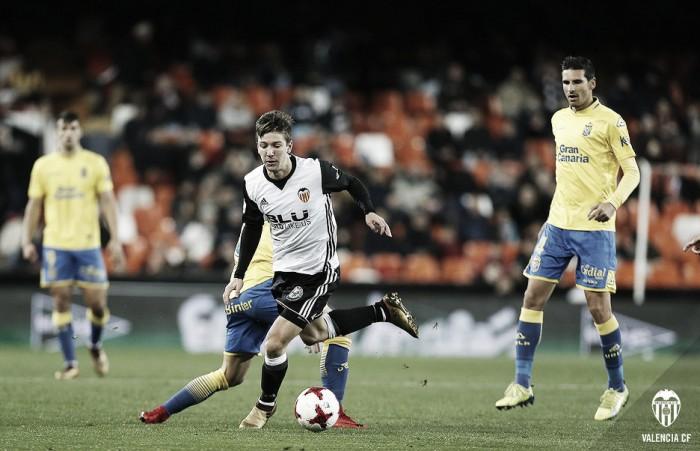Crónica Valencia CF vs UD Las Palmas: la sonrisa del gol