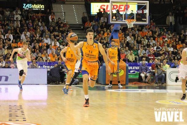 Valencia Basket - Río Natura Monbús: vuelve el basket a la Fonteta 48 horas después