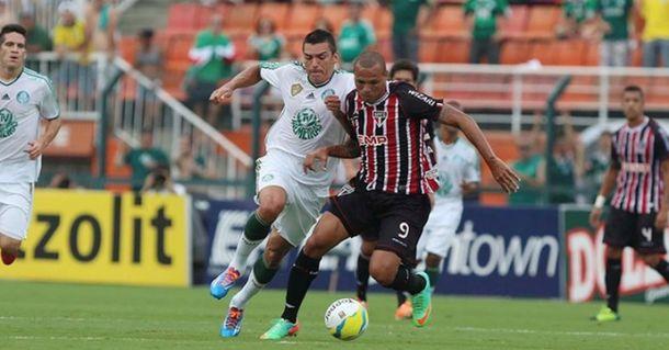 """Satisfeito com a vitória, Lúcio afirma: """"Fico feliz pelo Palmeiras, que agora é meu time de coração"""""""