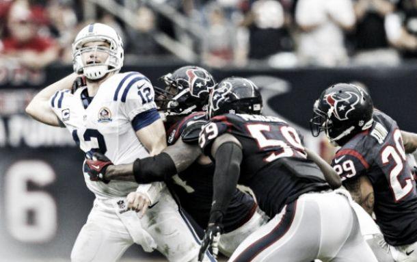 Colts superó a Texans y está en playoff
